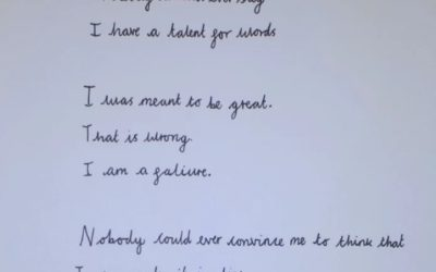 A Lovely Poem About Living with Dyslexia from the Eyes of a 10 Year Old