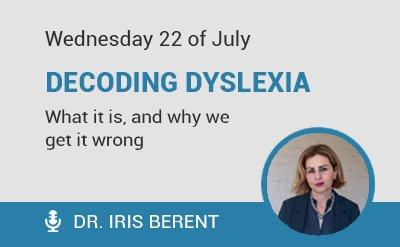 Iris Berent Webinar